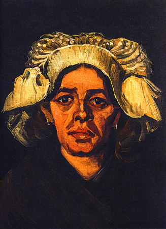 Head Of A Peasant Woman With White Cap 0