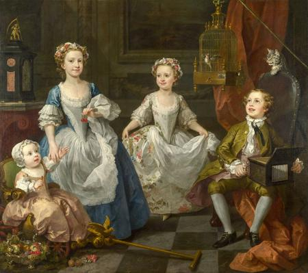 Hogarth the Graham Family resim