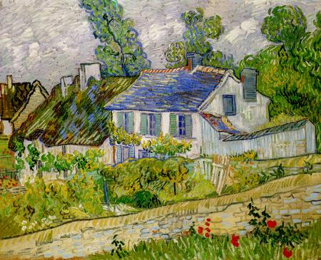 Houses at Auvers resim