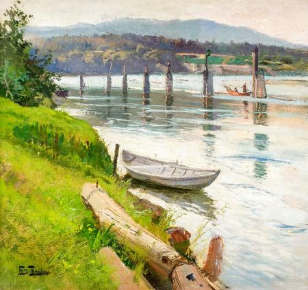 İlkbaharda Nehir 0