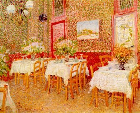Interior of Restaurant resim
