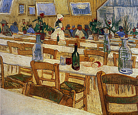 Interior Of The Restaurant Carrel In Arles 0