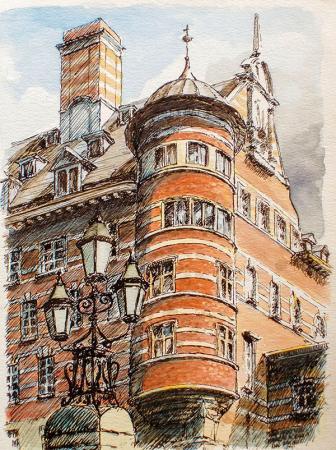 İskoçya Yard'ın eski binası resim