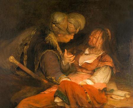 Judah and Tamar resim