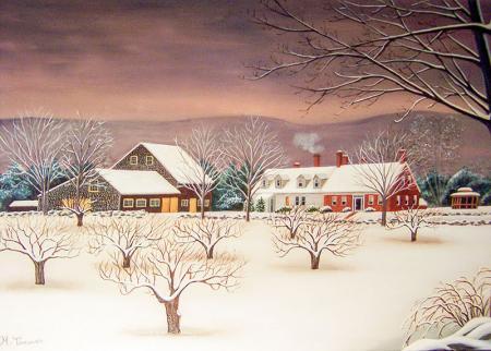 Karlı Kış resim