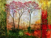 Kırmızı Ağaçlar - DM-C-007