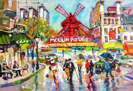 Kırmızı Kahve Değirmeni , Paris resim