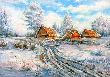 Kış Manzarası 0