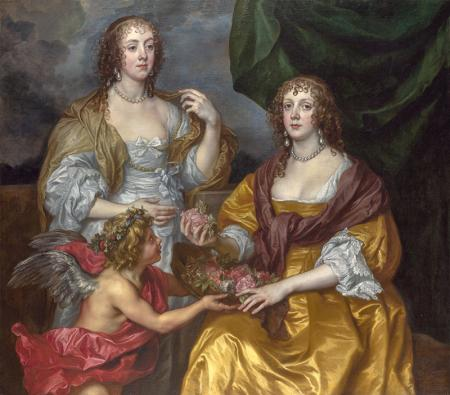 Lady Elizabeth Thimbelby and her Sister resim