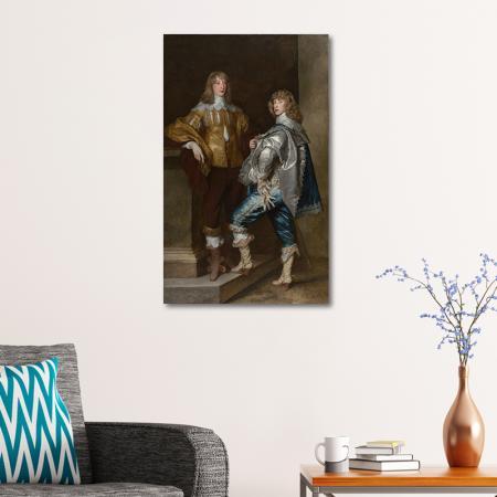 Lord John Stuart and His Brother, Lord Bernard Stuart resim2
