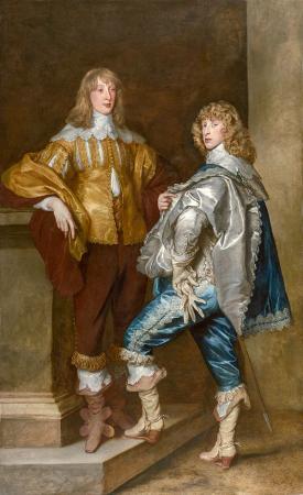 Lord John Stuart and His Brother, Lord Bernard Stuart resim