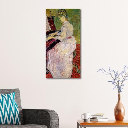 Marguerite Gachet at the Piano resim2