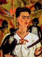 Maymunlu Otoportre - UR-C-255