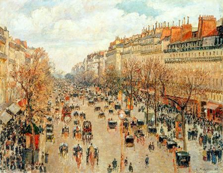 Montmartre Bulvarı resim