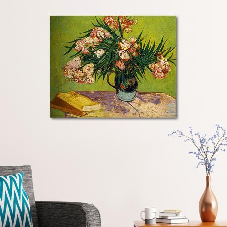 Oleanders and Books resim2