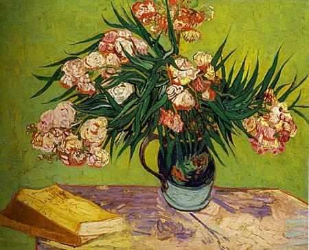 Oleanders and Books resim