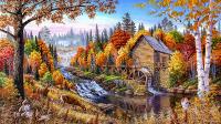 Orman ve Su Değirmeni - DM-C-072