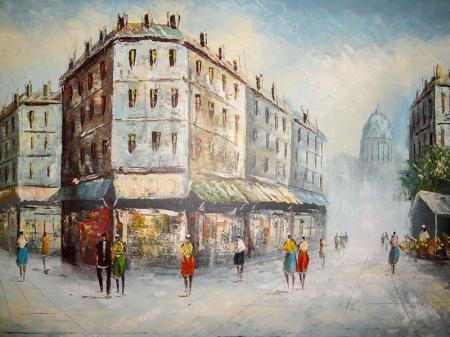 Paris Caddesi resim