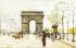 Paris Charles de Gaulle Meydanı ve Zafer Takı k0