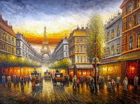 Paris Eyfel Kulesi 0