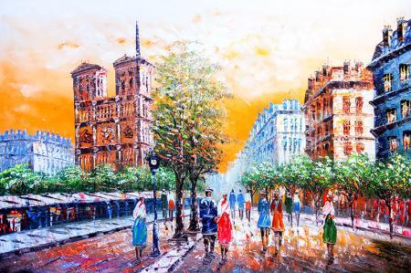 Paris'te Sokak resim