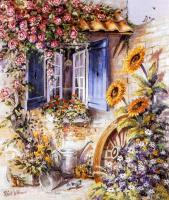 Penceredeki Çiçekler - DM-C-082