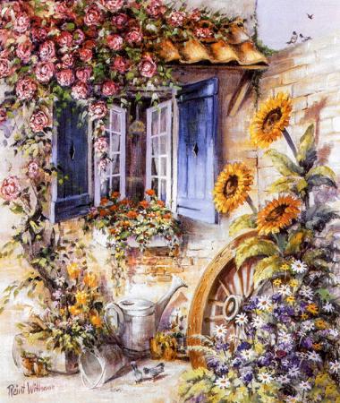 Penceredeki Çiçekler 0
