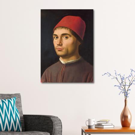 Portrait of a Man resim2