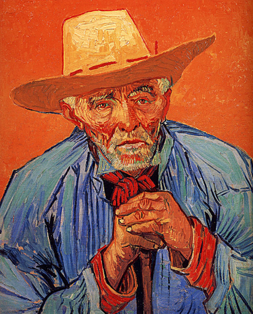 Portrait of an Old Peasant 0