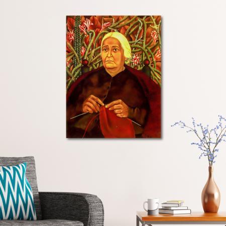 Portrait of Dona Rosita Morillo resim2