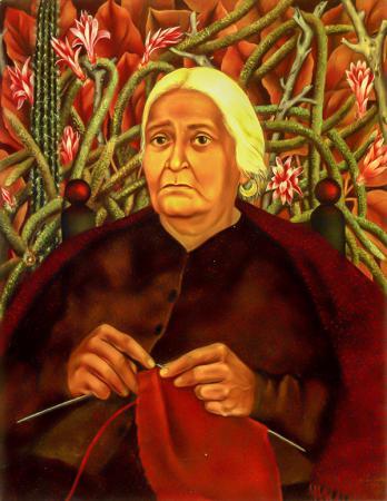 Portrait of Dona Rosita Morillo resim