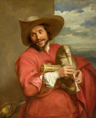 Portrait of François Langlois resim