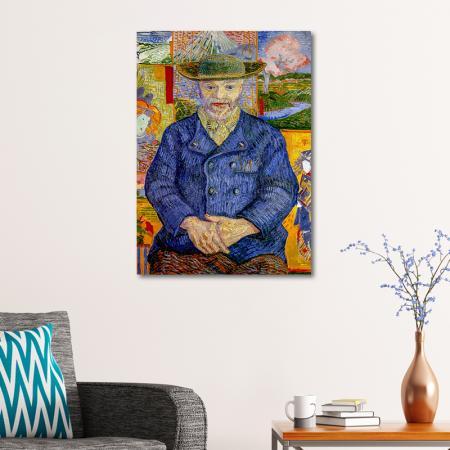 Portrait of Pere Tanguy resim2