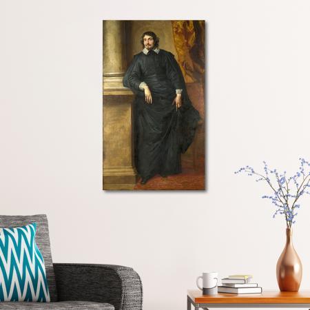 Portrait of the Abb Scaglia resim2