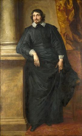 Portrait of the Abb Scaglia resim