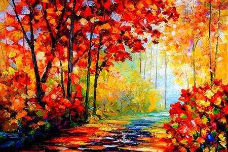 Red Autumn resim