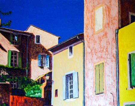 Renkli Binalar resim