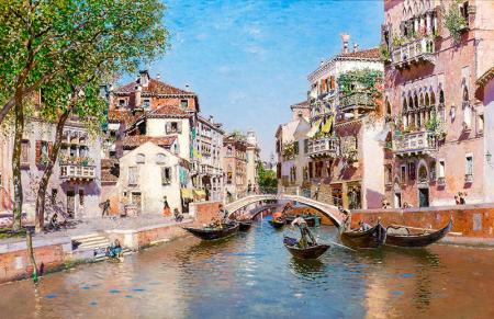 Rio San Trovaso, Venedik 0