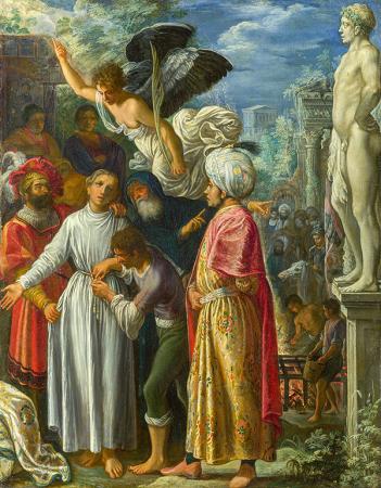 Saint Lawrence Prepared for Martyrdom 0