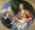 Scaglia adoring the Woman and Child k0