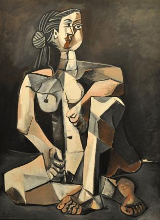 Seated Woman  resim