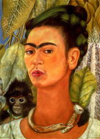 Self-Portrait with a Monkey - UR-C-225