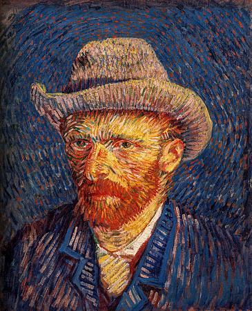 Self Portrait with Felt Hat resim
