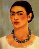 Self Portrait with Necklace - UR-C-221