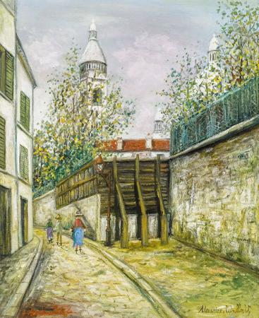 Sokak Manzarası resim