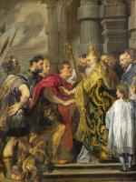 St Ambrose barring Theodosius - UR-C-053