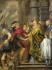 St Ambrose barring Theodosius k0