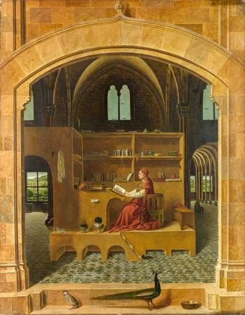 St. Jerome in His Study resim