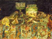 Still Life - Oysters, Fish - UR-C-013