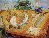 Still Life With a Plate of Onions - UR-C-187